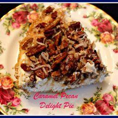 Caramel Pecan Delight Pie! Recipe   Key Ingredient