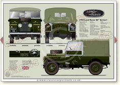 Land Rover Series One classic car portrait Land Rovers, Landing, Classic Cars, Monster Trucks, Portrait, Prints, Cars, Headshot Photography, Vintage Classic Cars