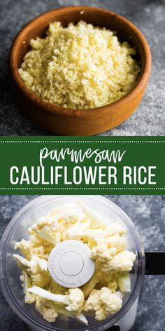 Parmesan cauliflower rice is a simple but flavor-packed side dish! Simple to prepare, low carb, gluten-free and pairs well with Italian flavors. #sweetpeasandsaffron #cauliflowerrice #mealprep #sidedish #lowcarb #keto