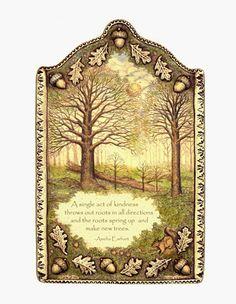 Spiritual inspirational verse nature tree by moosupvalleydesigns