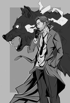 Шериф Фейблтауна арт, Игры, The Wolf Among Us