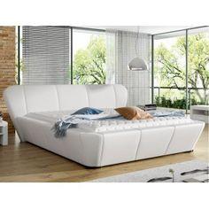 Łóżko tapicerowane 80282 RM - z pojemnikiem Mattress, Sofa, House Design, Bed, Furniture, Home Decor, Couches, Settee, Decoration Home