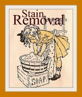 Stain Removal. One recipe used on 10 year old spit-up stains from baby clothes in storage which worked wonders. I'm gonna try this to remove my baby milk stains. From Fairy Child Heirlooms