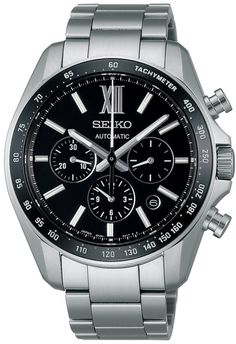 Men watches Watches online Seiko Brights Chronograph Sapphire Glass Super Clear Coatingwith Manual Winding Sdgz003 Men's Watch Japan Import