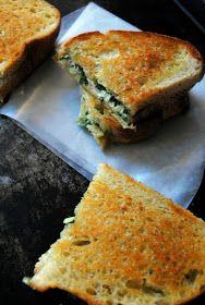 A Clove of Garlic, A Pinch of Salt: Grown-Up Grilled Cheese