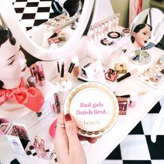 Cheers to all you BADgals our there! #benefitbeauty
