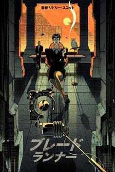 Blade Runner - Victo Ngai ----
