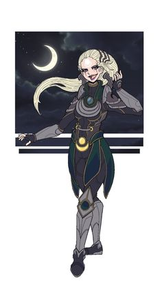 LOL: Diana 2 by Ineverfinishanything on DeviantArt League Of Legends, Diana, Princess Zelda, Lol, Deviantart, Anime, Fictional Characters, League Legends, Anime Shows