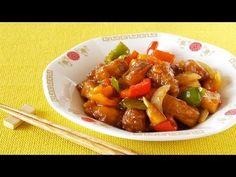 How to Make Sweet and Sour Pork (咕噜肉 Subuta Recipe) 酢豚 (スーパイコ) 作り方 (レシピ) Pork Recipes, New Recipes, Cooking Recipes, Favorite Recipes, Cooking Hacks, Popular Chinese Dishes, Japanese Dishes, Japanese Food, Japanese Recipes