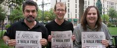 Seattle Music History: 3 Men FREED FROM 2 LIFE SENTENCES & 1 DEATH SENTEN...