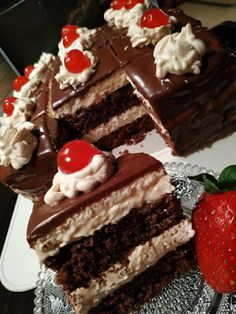 Dessert Drinks, Dessert Recipes, Desserts, Cookbook Recipes, Cooking Recipes, Snap Food, Food Snapchat, Greek Recipes, Food Cravings