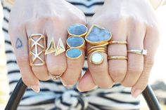 Beautiful Collection of rings