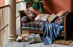 Mulberry Home -  Bohemian Romance Fabric Collection -