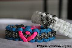 paracord...heart