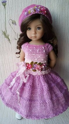 """OOAK Outfit for doll 13"""" Dianna Effner"""