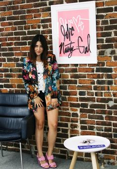 """""""The attitude of the Nasty Gal brand...[is] redefining the 'rules' and learning all about our customer."""" - Val Pina, Talent Relations at Nasty Gal #NastyGalsDoItBetter"""