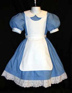 ****NOTE: I ask for 4 weeks to complete my items prior to shipping. If you need it sooner, please message me prior to purchase to see if thats possible. OK, so maybe weve taken this Alice thing a little too far..... But were big fans here and just love trying new versions of her dress! The