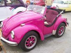 Pink VW Bug