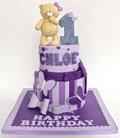 Celebrate with Cake!: Weekly Fav teddy bear