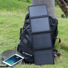 Solar Power Bank Waterproof &foldable 3W5W/7W/10W Portable Universal Travel Solar Charger With Two Solar Panels. Price:$6 #portablesolarpanels