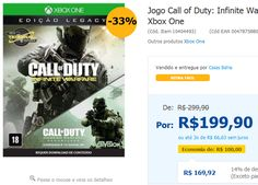 Jogo Call of Duty: Infinite Warfare - Legacy Edition - Xbox One << R$ 16992 >>
