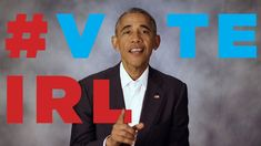 "A Special ""Vote In Real Life"" Message from President Obama  