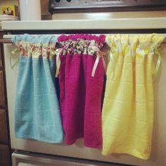DIY--Stay-Put Kitchen Towels