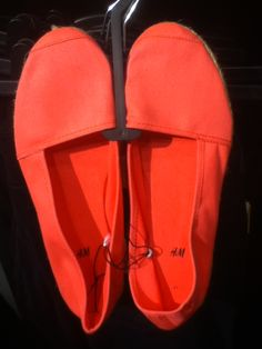 Coral shoes for summer love!!!! From Rue 21