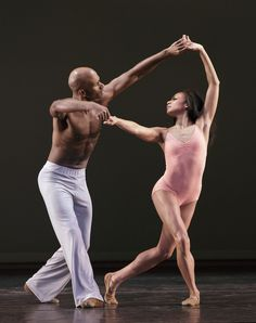 Impressions of Alvin Ailey American Dance Theater At New Jersey Performing Arts Center -Linda Celeste Sims tenderly holds onto to her partner and husband, Glen Allen Sims