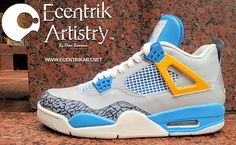 Air Jordan 4 Brother of Mars Custom - Tremendous Work