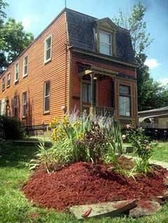 Historic 1870 Second Empire Cincinnati Nagele Merz House Meticulously Restored with Some Work Still Needed $20,000