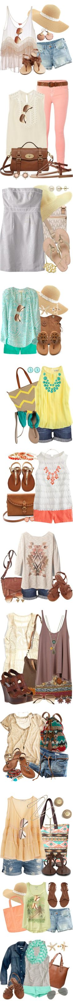 Summer Showcase by qtpiekelso on Polyvore featuring H&M, Charlotte Russe, Chan Luu, MANGO, Rosita Bonita, Jack Wills, Étoile Isabel Marant, Mulberry, K. Jacques and Warehouse