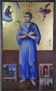 αγιος ΙΩΑΝΝΗς Ο ΡΩΣΣΟΣ Orthodox Icons, Jesus Christ, Greece, Saints, Religion, Lord, Painting, Cyprus, Angel