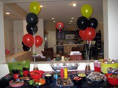 Mickey Party set up
