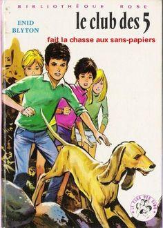 Le club des cinq - children's series books #reappropriation #political #satyre