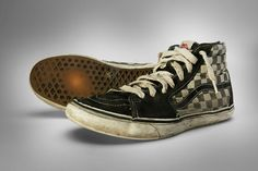 Rad photo collection of Sk8-Hi's that have seen some serious mileage.