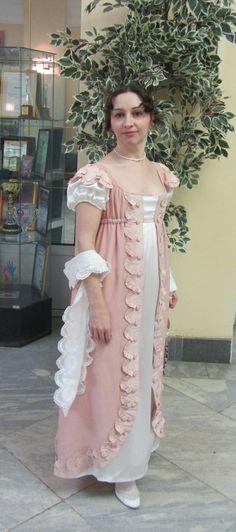 Реплика платья стиля ампир (1805-13)