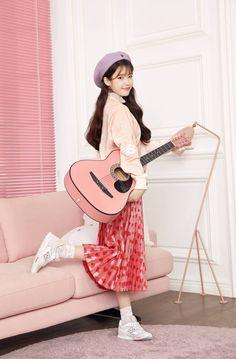 Choi Seo Hee, Vs Pink, New Balance, Kpop, Spring, Album, Style, Guitar, Korean