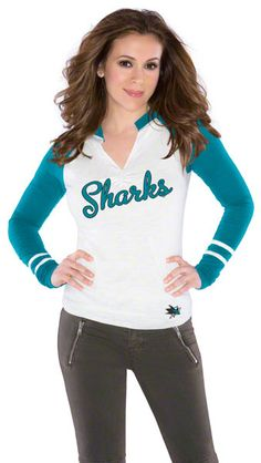 San Jose Sharks Women's Sport Envy Top