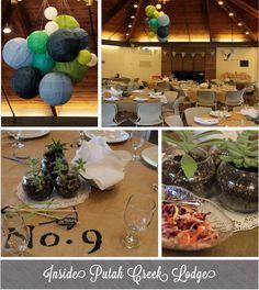 Putah Creek Lodge interior #weddings #ucdavis