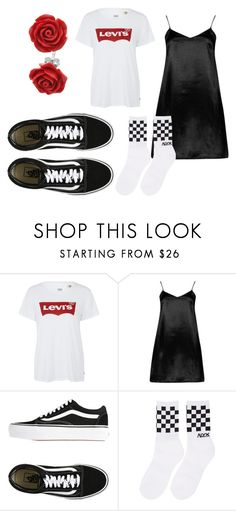 """""""one night stand"""" by lisalue00 on Polyvore featuring Mode, Levi's, Boohoo, Vans, Alyx und Bling Jewelry"""