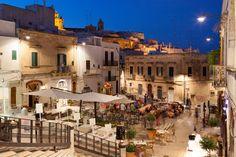 Ostuni, a UNESCO World Heritage Site, located in the Italian Region of Puglia