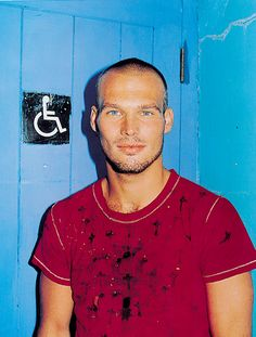 Freddie Ljungberg by Frederike Helwig for Time Out, 2003. Art directed by Michael Booth