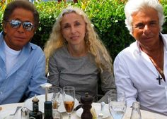 Valentino and Mr. Giammetti saw Franca Sozzani, it was at a dinner given by the maison to celebrate the Venice Film Festival premiere of the documentary Franca: Very Valentino, Valentino Garavani, Film Festival, Documentaries, Round Sunglasses, Museum, Lady, Celebrities, Beauty