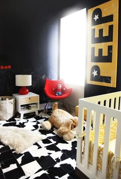 Black Children Bedroom