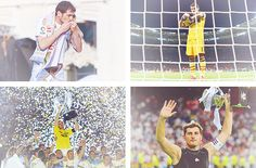 """I don't want to be remembered as a good goalkeeper, I want to be remembered as a great person."" - Iker Casillas"