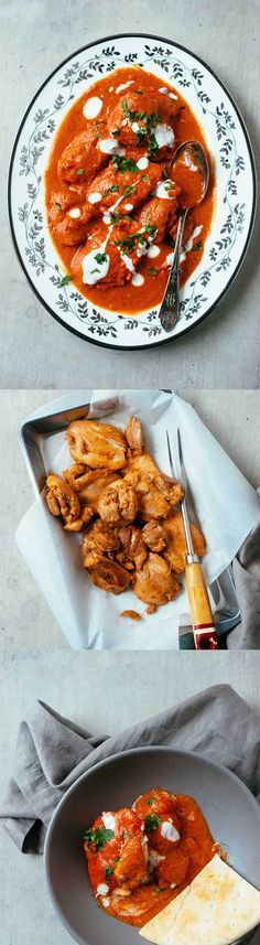 Butter Chicken- a delicious and easy recipe for a full-flavored Indian butter chicken that will make you want to lick your plate clean!   rasamalaysia.com
