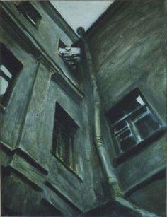 Vitaly Pushnitsky. Corber 1997. 65 x 44 cm windows and doors (1997-2001)