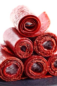 Fruit & raw honey are the only ingredients you need to create this Strawberry Fruit Leather!