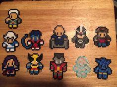 X-Men perler beads by cardo9877